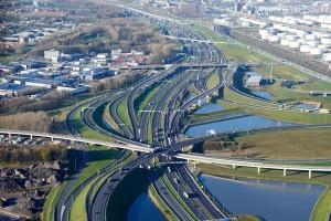 A15 MaVa - Barendrecht-Vaanplein-Maasvlakte foto: Joop van Houdt / Rijkswaterstaat